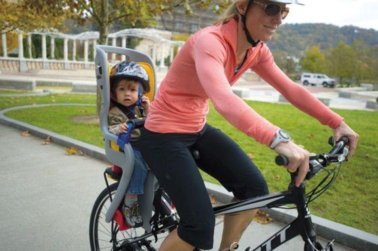 BabySeat II: lleva al chamaco contigo en la bici. #ciclismo, #bicicleta, #calavera, #Cletofilia.