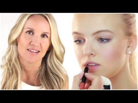 CALIFORNIA GIRL - NATURAL MAKE UP TUTORIAL BY CELEBRITY MAKE UP ARTIST MONIKA BLUNDER - YouTube