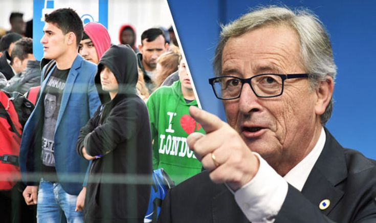 "THE SITUATION where refugees have refused to move to other countries under the European Union's relocation plan has been described as ""outrageous,"" by the European Commission president Jean-Claude Juncker."