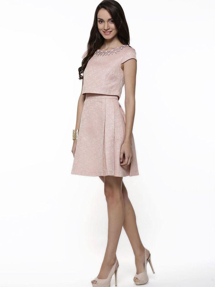 Forever New Jacquard Dress - Buy Women's Skater Dresses online in ...