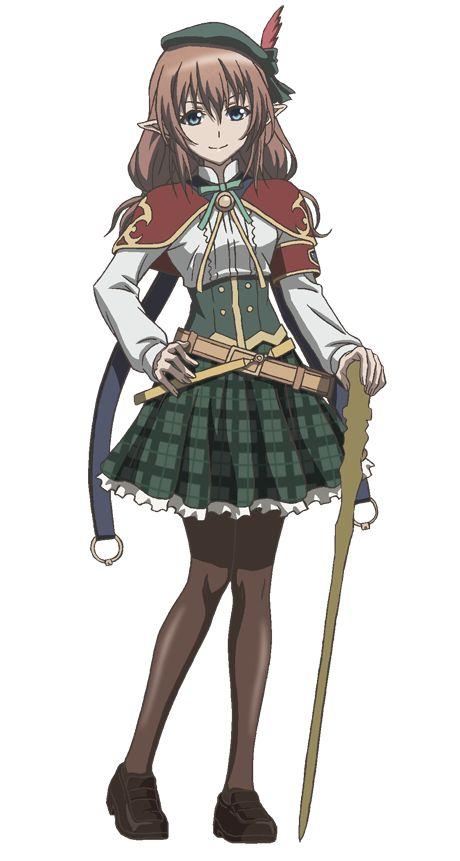 Nana Mizuki en la voz de Hanna.
