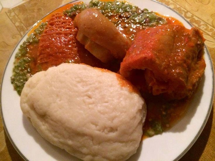 Nigerian foods and recipes nigerian eba and ewedu http for African cuisine restaurant