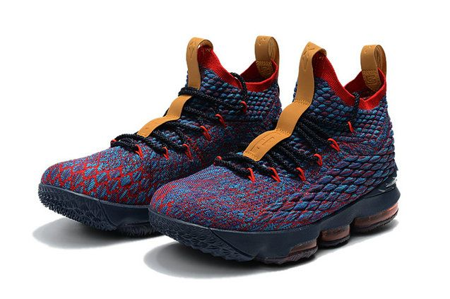 sports shoes ff494 f981e Cheapest And Latest New Arrival March Nike Cheap LeBron 15 New Heights Dark  Atomic Teal Ale Brown-Team Red 897648-300