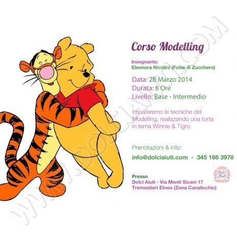 Corso Modelling Winnie the Pooh & Tigro
