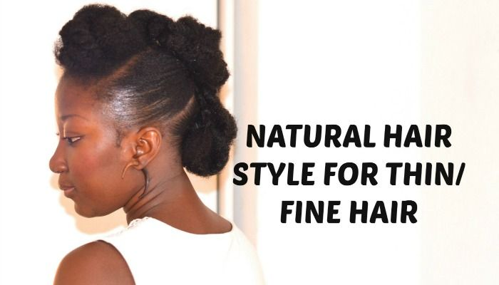 Here are some great style tutorials for thin natural hair that will help you add some volume.