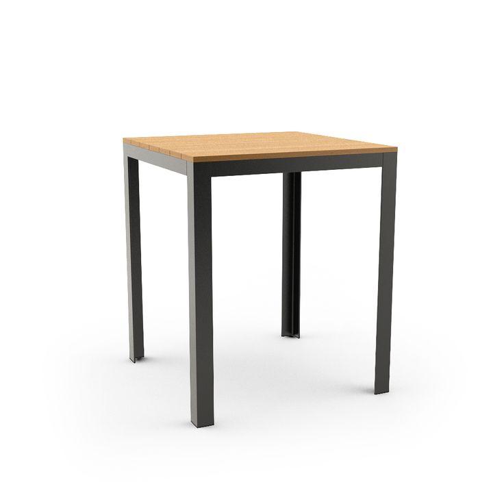 Ikea FALSTER Table, Black, Brown Free 3d Model Download