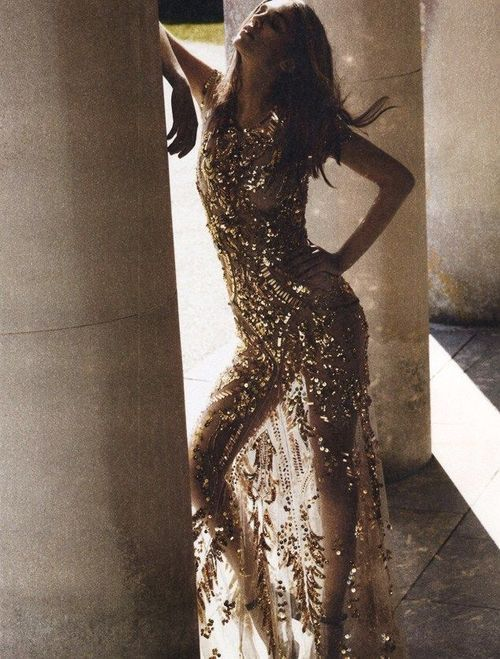 sparkles: Fashion, Style, Clothes, Dresses, Gold, Sparkle, Glitter, Samantha Gradoville