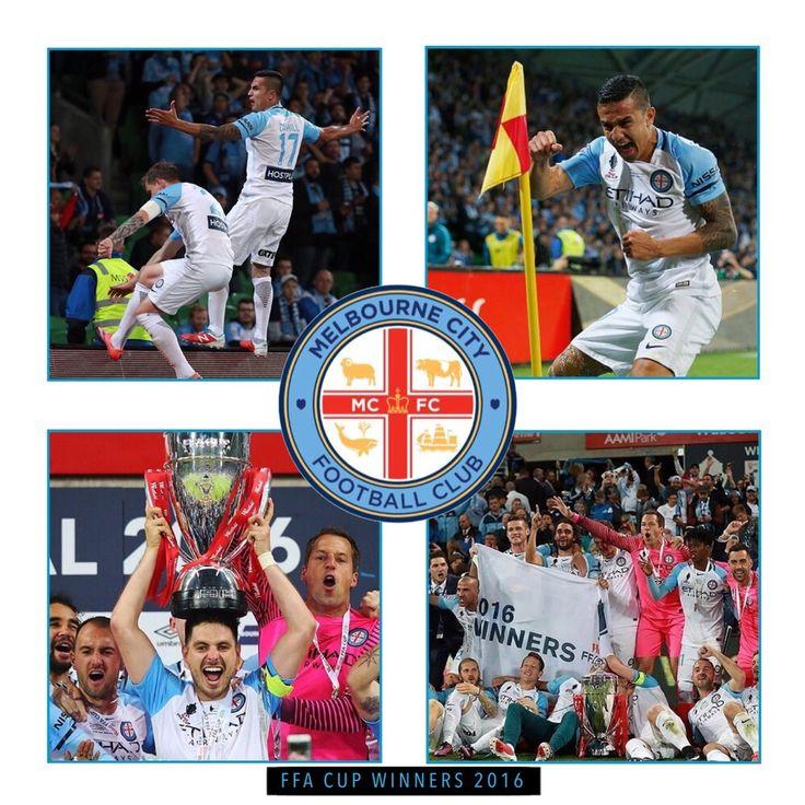 FFA Cup Winners 2016 Melbourne City FC  #FFACup #Melbourne #MCY