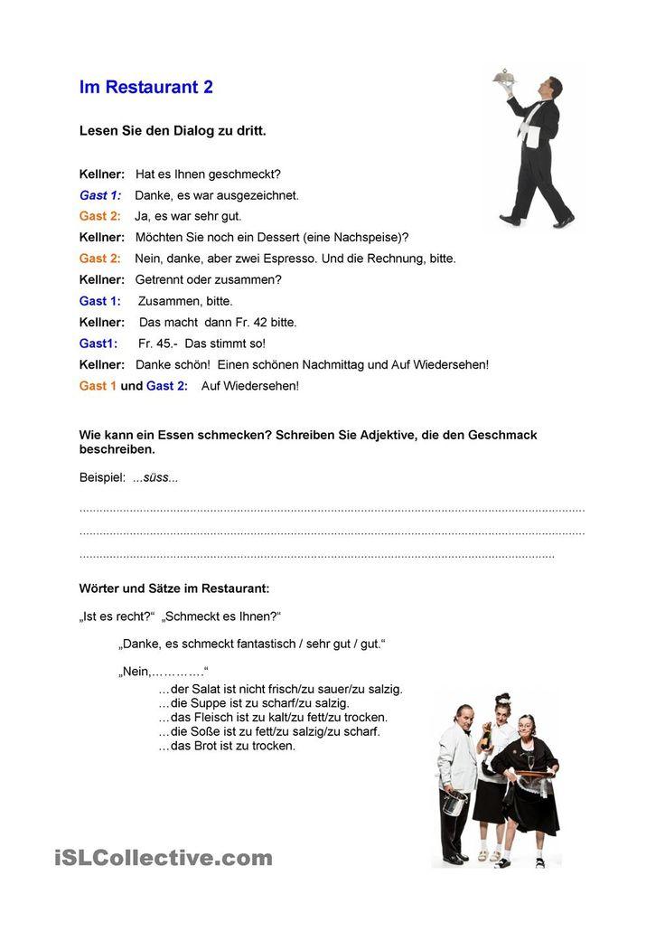 14 best German - Das Essen images on Pinterest | Learn german ...