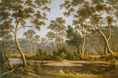 The River Nile, Van Diemen's Land, from Mr Glover's Farm, John Glover, 1837