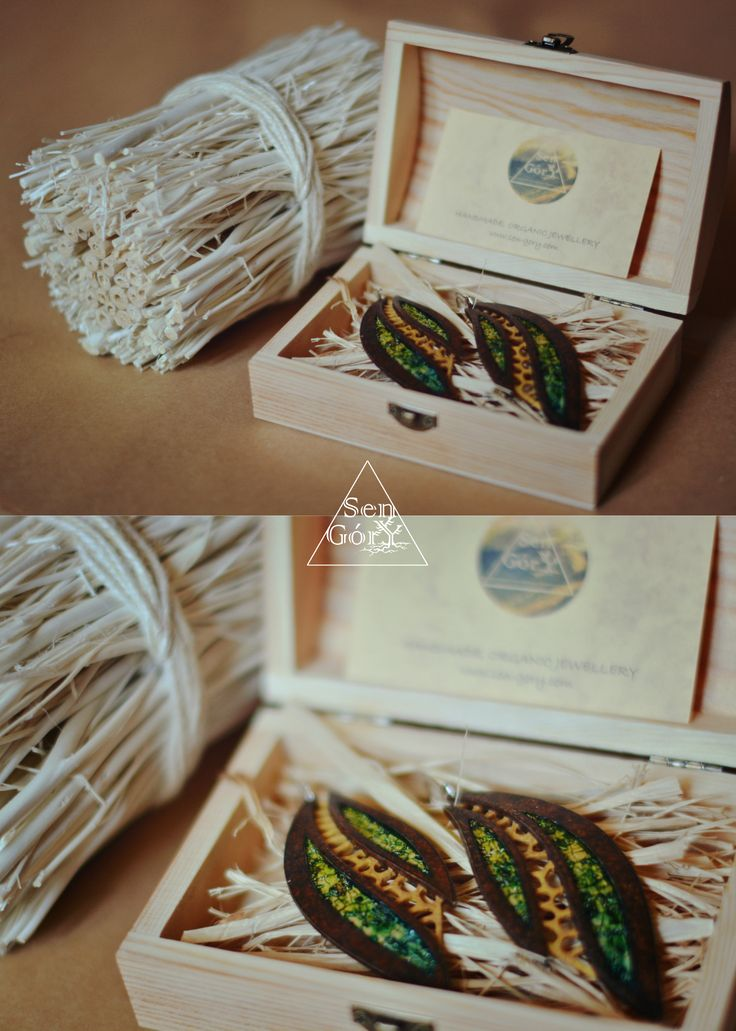 Special boho jewellery and special packaging - www.sen-gory.com