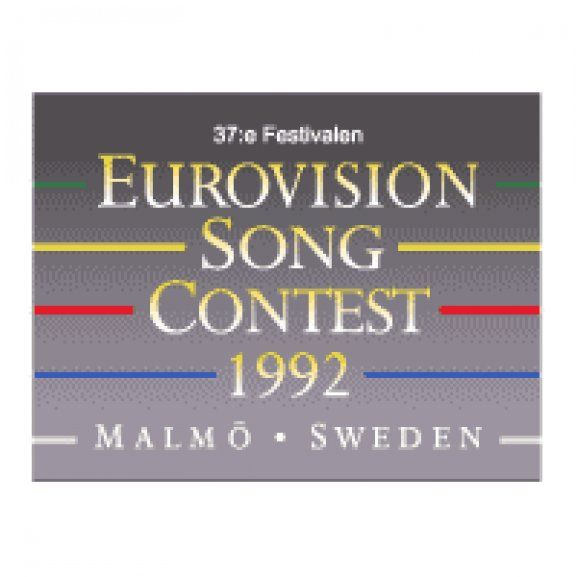 Logo of Eurovision Song Contest 1992