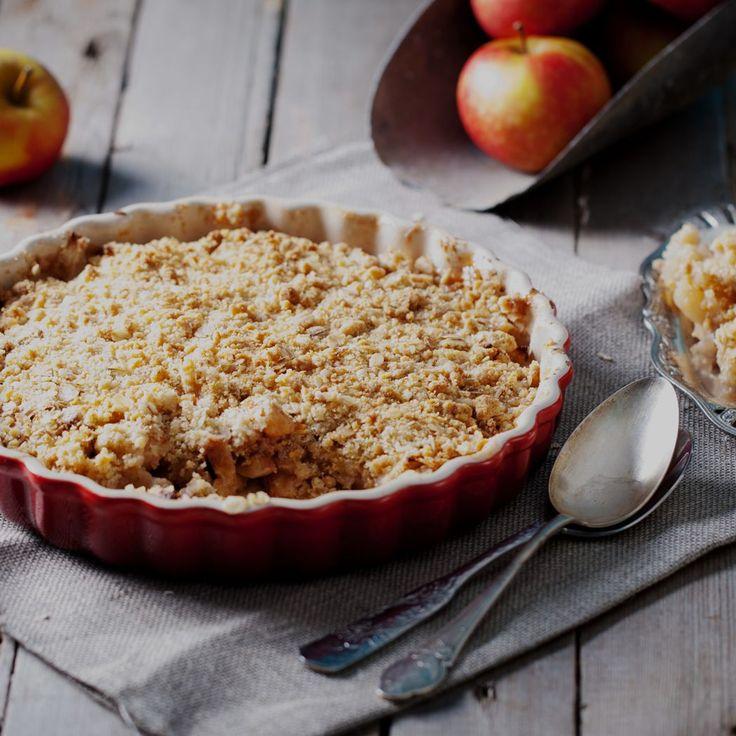 Warm of koud, de Apple Crumble 43 is hét perfecte najaarsdessert! Een goddelijke kruimel combi met appel en amandel. Proef 'm snel en oordeel zelf.