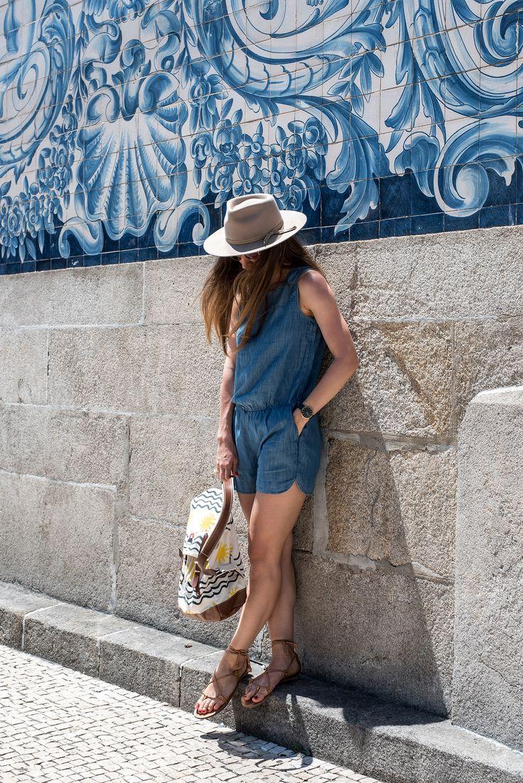 Jumpsuit: GAP | Hat: Lack of Color | Sandals: Massimo Dutti | Watch: Larsson & Jennings | Ring: LIKO Jewellery | Backpack: YKRA x LF MARKEY | Camera: Olympus PEN-EPL7.