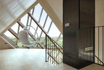 Dům je stavěn podle zásad pro pasivní budovy.