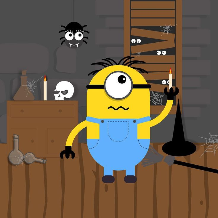 El #dibujo de hoy. #assemblyapp @assemblyapp #ipad #draw #drawing #drawer #dibujar #dibujarbien #vector #createanywhere #conceptart @pixiteapps #pixiteapps #minions #minion #character #halloween #halloween2015 #terror #miedo