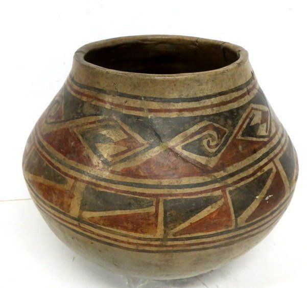 ancient native american pottery