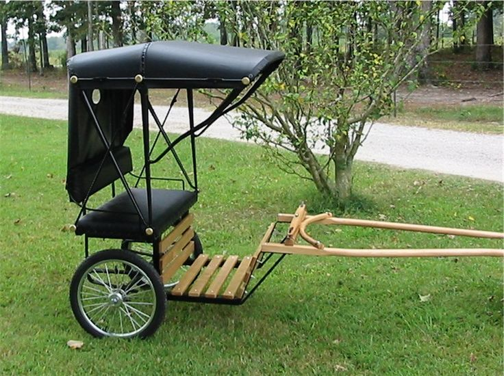 Miniature donkey carts the image kid for Easy entry cart plans