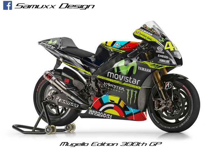 Yamaha M1 Valentino Rossi Mugello 2014
