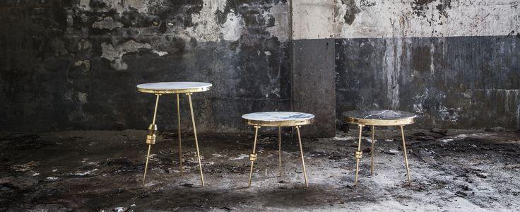 Richarm Table 01 marble table. metal table #furniture #design #marble #marbletable #Metal #sidetable www.richarmgroup.com