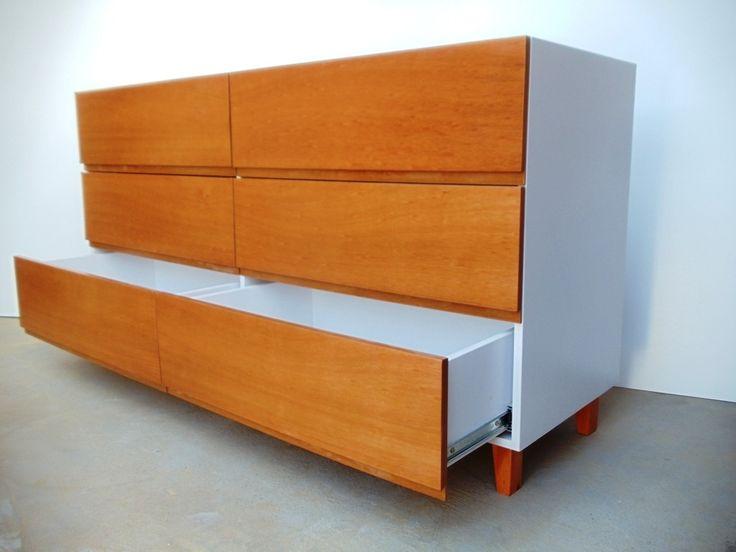 cajonera madera comoda laqueada dormitorio forbidan muebles
