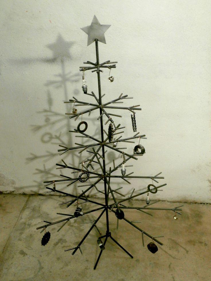 Kovový vánoční stromeček / Metal Christmass tree