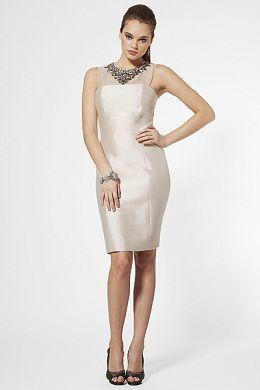 vestidos con moños para fiestas 2012