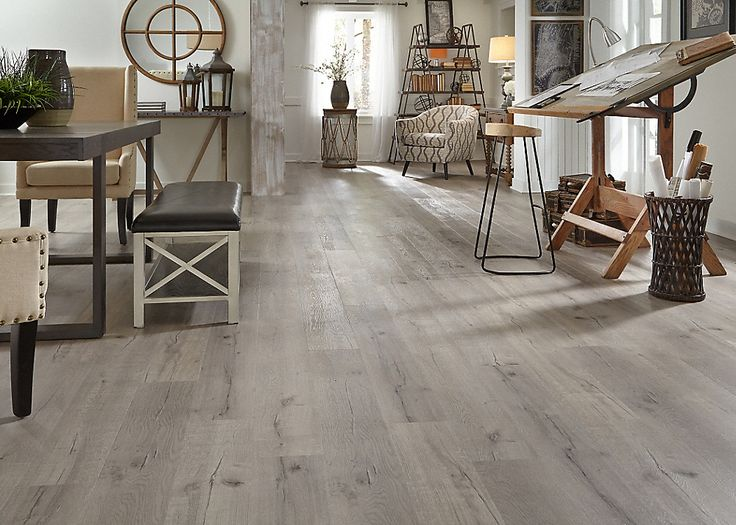 Coreluxe by Tranquility 7mm Driftwood Hickory EVP $2.59 Lumber Liquidators