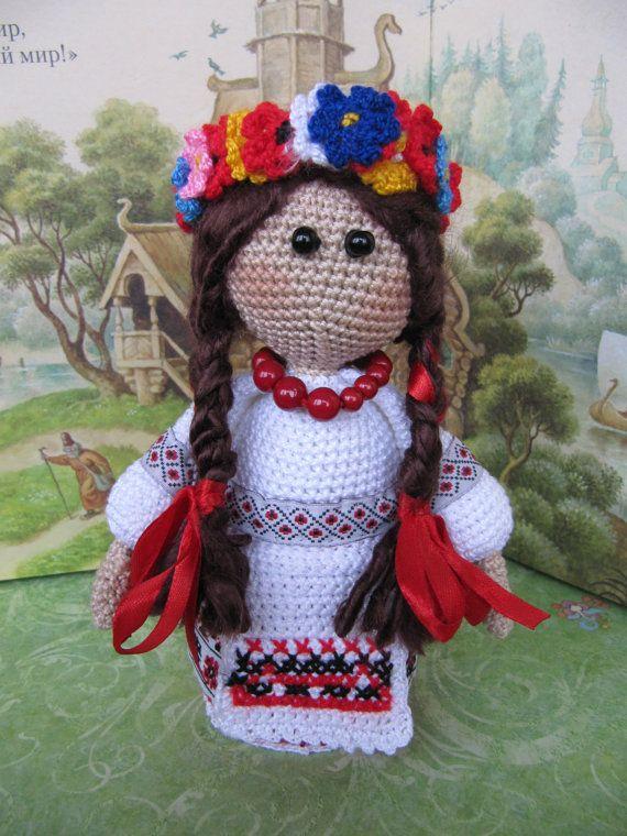 Ukrainian Doll handmade Ukrainian souvenirUkrainian от KrugerShop
