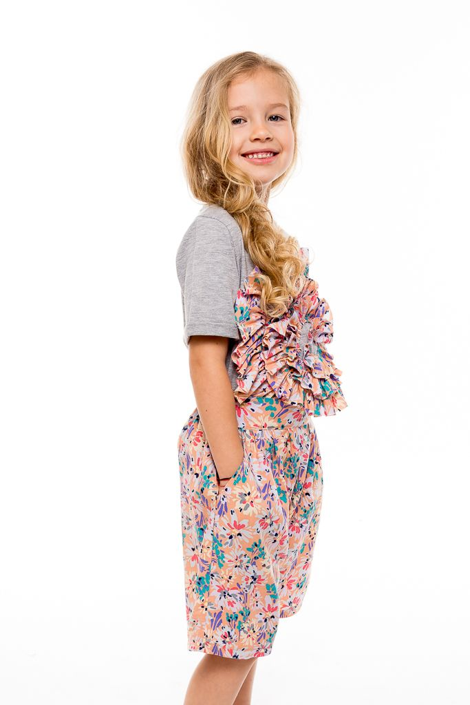 Cool fashion for kids from summer days. Casual outfit for your little ones designed with love by Designers for kids