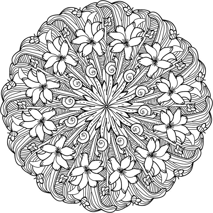 100 Best Printable Mandalas To Color