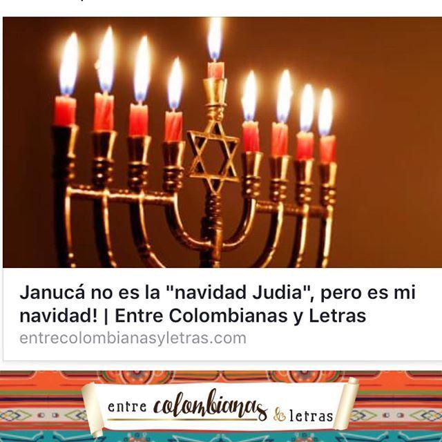 Ana Cata nos comparte su experiencia con Janucá, esta tradición judía que ha representado un cambio en su vida y en la forma de ver la Navidad lejos de casa! No se lo pierdan!! Feliz día! Link en la bio #januca #hanuka #hanukah #fiestajudia #judios #histo