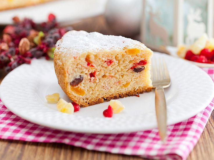 Рецепт: Панеттоне – рождественский кекс в мультиварке