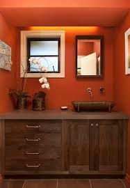 Image Result For Brown U0026 Orange Bathroom