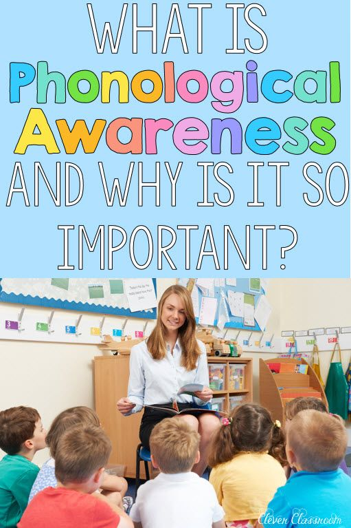 Why is phonological awareness so important? Without these important skills, potential reading difficulties may arise in the early years.