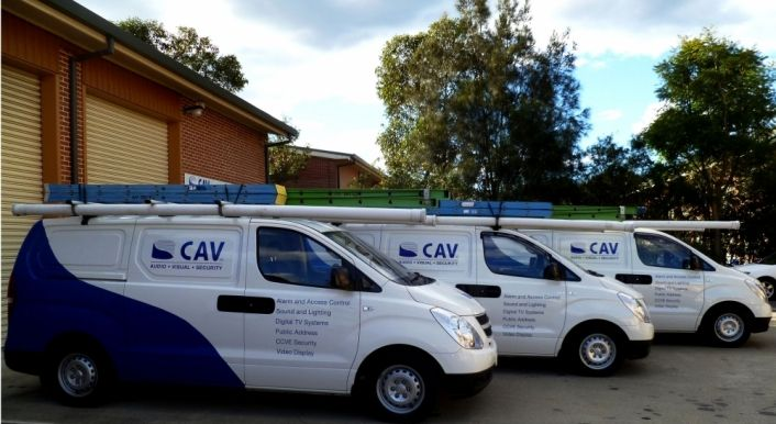 CAV AUDIO VIDEO SECURITY have over 25 years experience in providing professional Audio, Visual & Security services to the club industry, small & large businesses, government & education in NSW & QLD. CAV Security supply & install security surveillance systems with 24hr recording & monitoring. CAV can design & install lighting to suit all applications. CAV can also provide a complete design of auditorium & stage sound systems, mixing desks, amplifiers & control equipment. Contact them today.