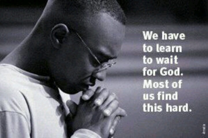 Lord, teach us patience!!