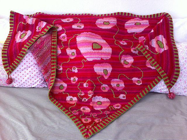 Ravelry: Project Gallery for Masai Summer Shawl pattern by Christel Seyfarth