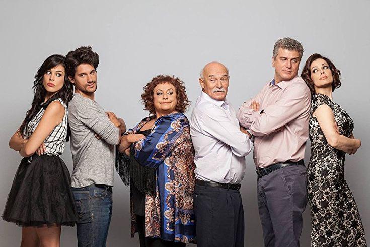 "The cast of ""Min arhizeis ti mourmoura"" TV series"