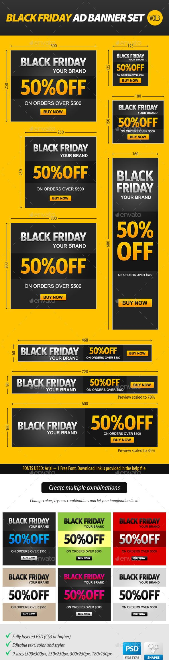 Black Friday Ad Banner Set Template PSD | Buy and Download: http://graphicriver.net/item/black-friday-ad-banner-set-vol3/9449511?WT.oss_phrase=&WT.oss_rank=10&WT.z_author=stoat&WT.ac=search_thumb&ref=ksioks