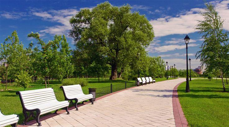 Садовая мебель и парковая мебель: скамейки, фонарные столбы, металлические ограждения, урны, цветочницы #Калининград http://park39.ru