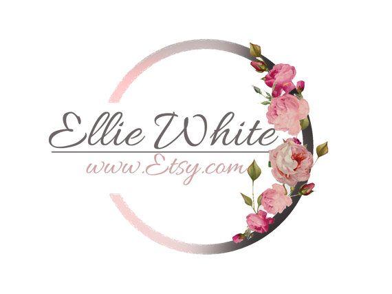 Original Roses romantic Logo  artistique graphic by HappyLogo