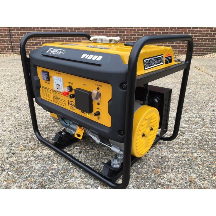 Villiers V1000 compact Petrol Generator - Petrol Silent Generators from pump.co.uk - W.Robinson & Sons (Ec) Ltd UK
