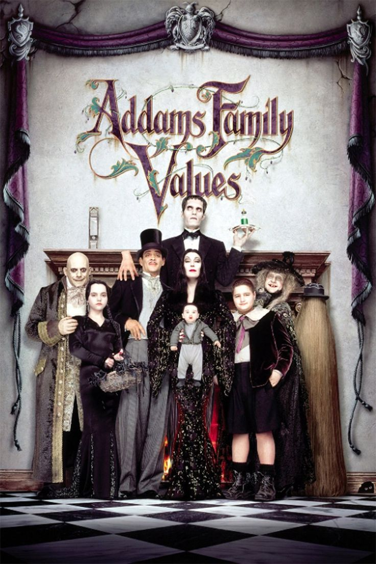 Addams Family Values (1993) - Watch Movies Free Online - Watch Addams Family Values Free Online #AddamsFamilyValues - http://mwfo.pro/105516
