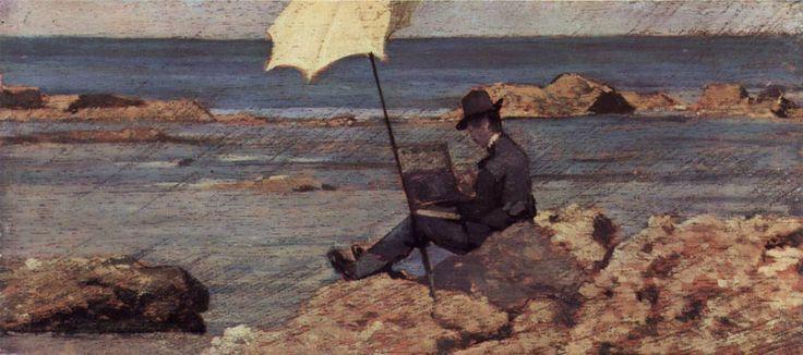 """""""Silvestro Leghi"""" (1866-67) by Giovanni Fattori"""