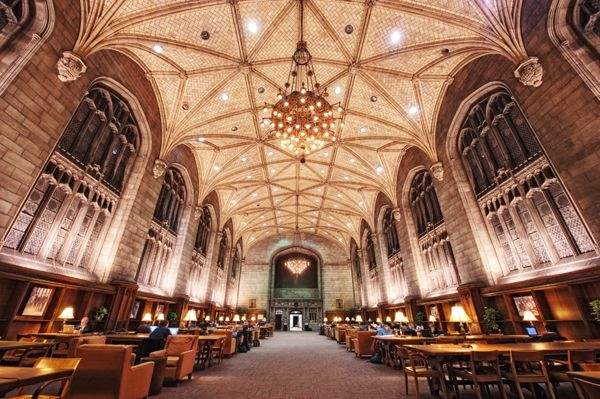 harper-memorial-library-restricted section, University of Chicago