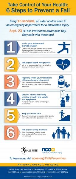 As you get older, changes in your body and health conditions make you more prone to falls. Follow these tips to help prevent accidents as you age.