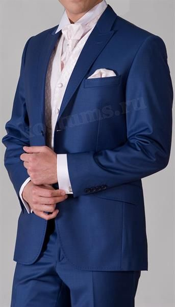 Фотографии синих костюмов