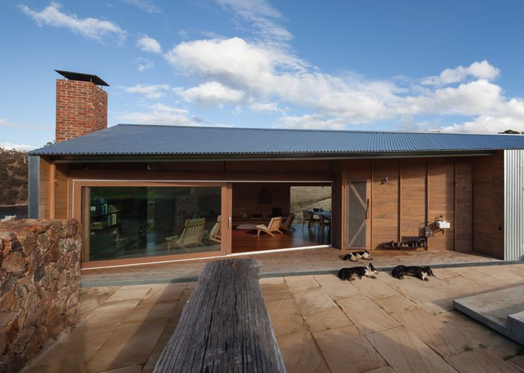Exterior cladding, a combination for timber and steel