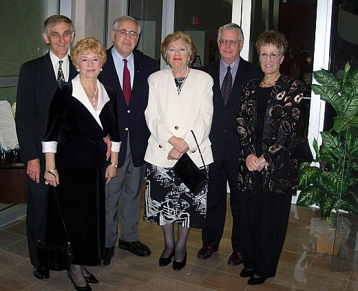 Guests at the official Sarasota-Treviso Province signing ceremony and gala at the Historic Asolo Theater  at the John & Mabel Ringling Museum of Art in February 2007